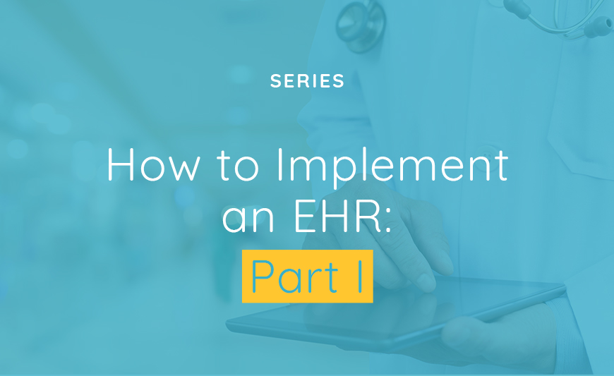 Title How to Implement EHR